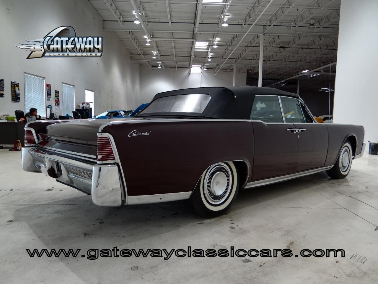 1965 lincoln continental chicago illinois chi 193. Black Bedroom Furniture Sets. Home Design Ideas