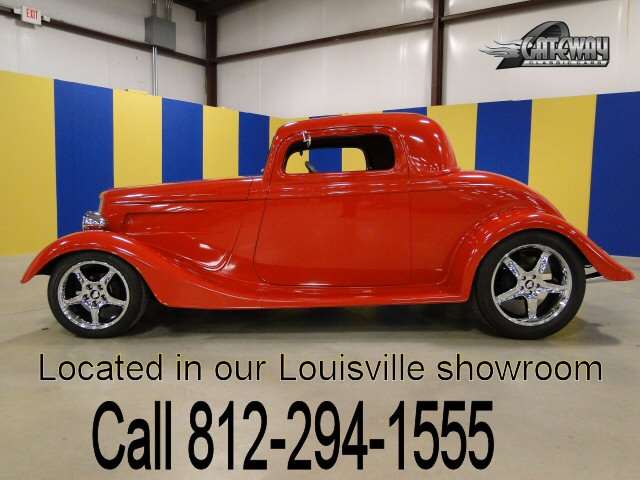 1934 ford 3 window coupe gateway classic cars 143 lou for Kenny motors morris il