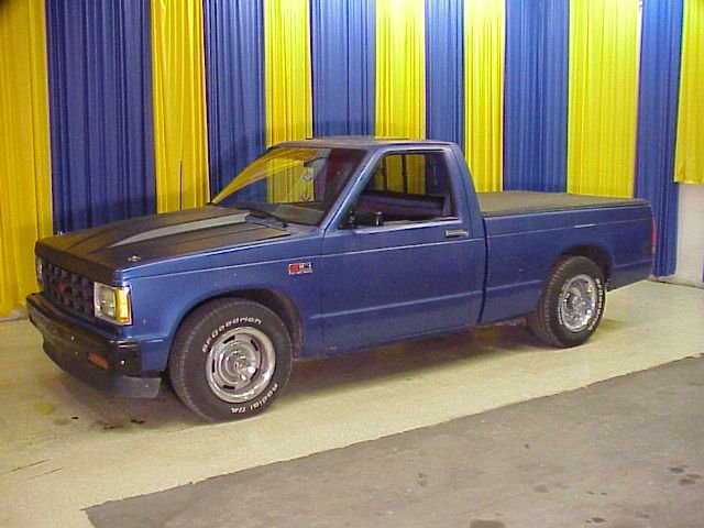1985 Chevrolet S10 V 8 Conversion Gateway Classic Cars 2102 Stl