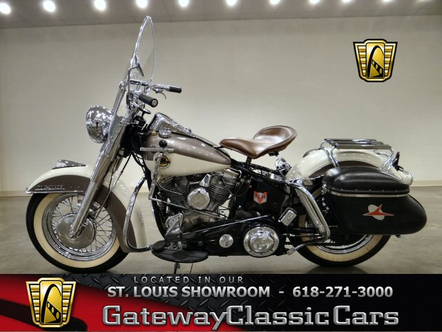 1958 Harley Davidson Duo Glide Flh Gateway Classic Cars