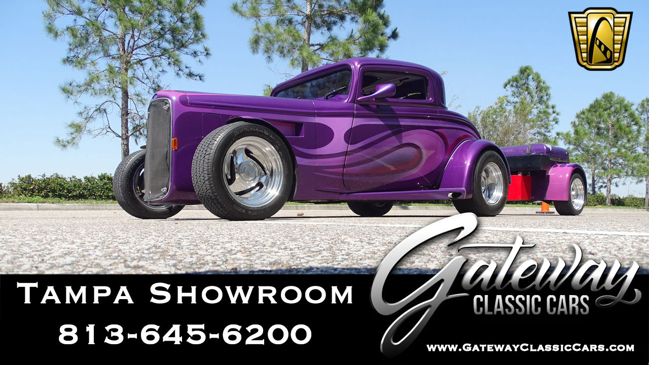 1932 Ford 5 Window Coupe | Gateway Classic Cars | 4634-STL