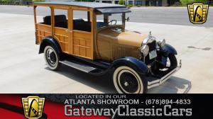 1929 Ford Model A Woody Wagon
