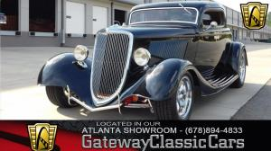 1934 Ford Coupe 3 Window