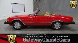 1987 Mercedes-Benz  - Stock 161 - Dallas