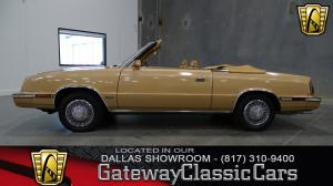 1985 Chrysler  - Stock 164 - Dallas