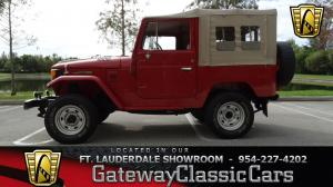 1977 ToyotaLand Cruiser  - Stock 378 - Fort Lauderdale