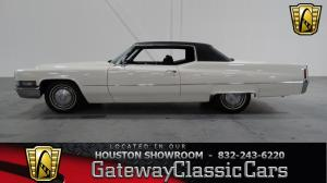1970 Cadillac  - Stock 195 - Houston