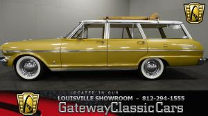 1963 ChevroletStation Wagon  - Stock 1021 - Louisville