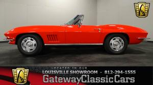 1967 ChevroletStingray Convertible - Stock 1025 - Louisville