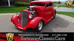 1934 Chevrolet 3 Window  Coupe
