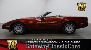1986 ChevroletPace Car  - Stock 486 - Nashville