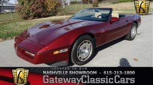 1986 Chevrolet Corvette Offical Pace Car