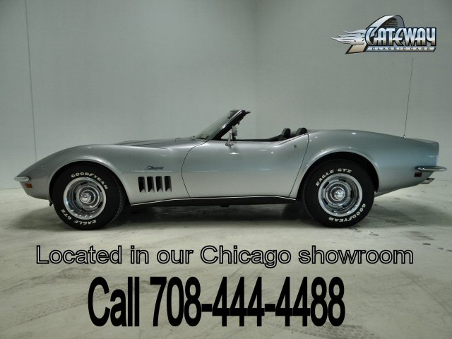 1969 Chevrolet Corvette Convertible  - Stock #32-CHI