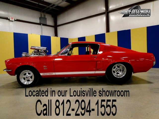 1967 Ford Mustang Fastback Pro Street - Stock #169-LOU