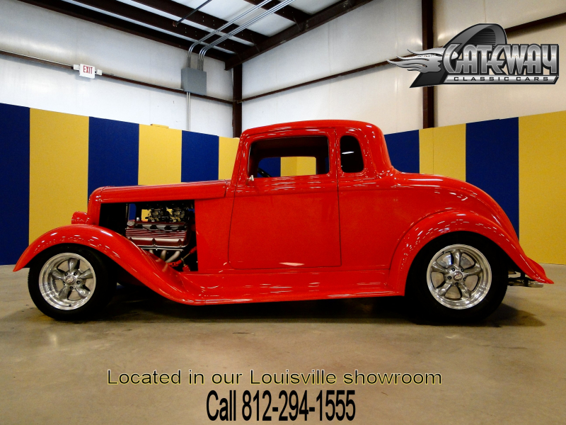 1933 Plymouth 5 Window Coupe  - Stock #37-LOU