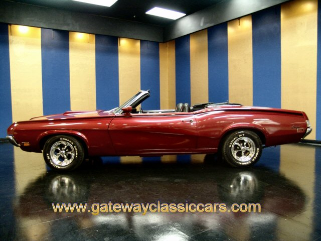 1970 Mercury Cougar Convertible 351 Windsor Auto