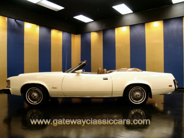 1973 Mercury Cougar XR7 Convertible - Stock #4180-STL