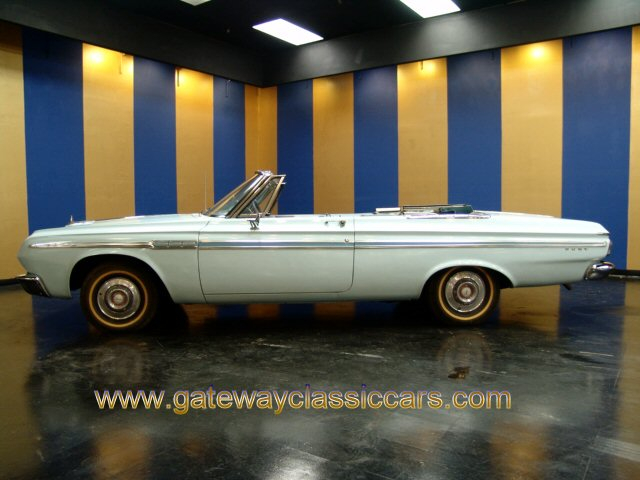 1964 Plymouth Fury Convertible  - Stock #4290-STL