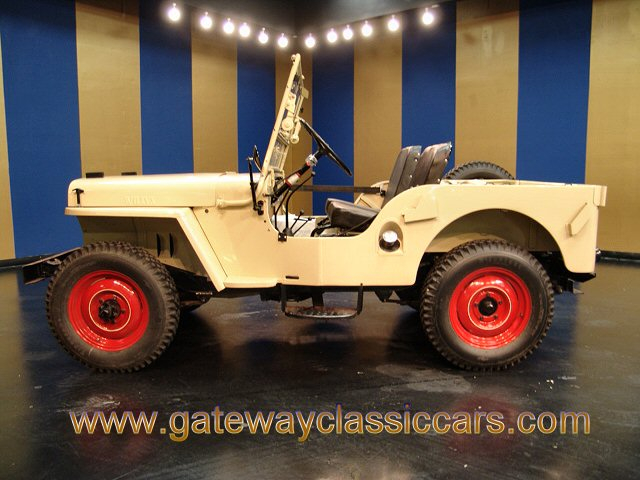 1946 Willys CJ2A 4x4 Jeep - Stock #4592-STL