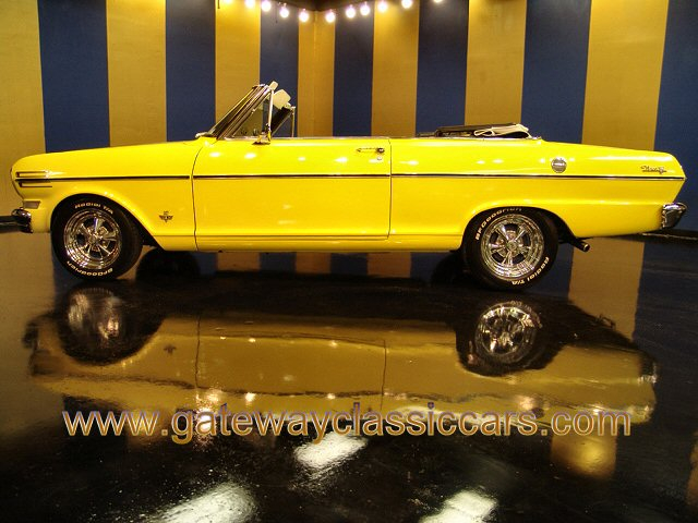 1962 Chevrolet II Nova Convertible  - Stock #4709-STL