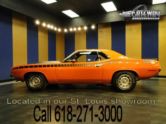 1970 Plymouth Cuda AAR 340 CID 6-pk 4-Spd Manual