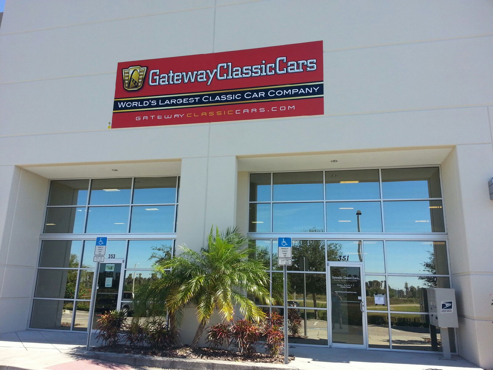 Tampa Showroom Contact | Gateway Classic Cars