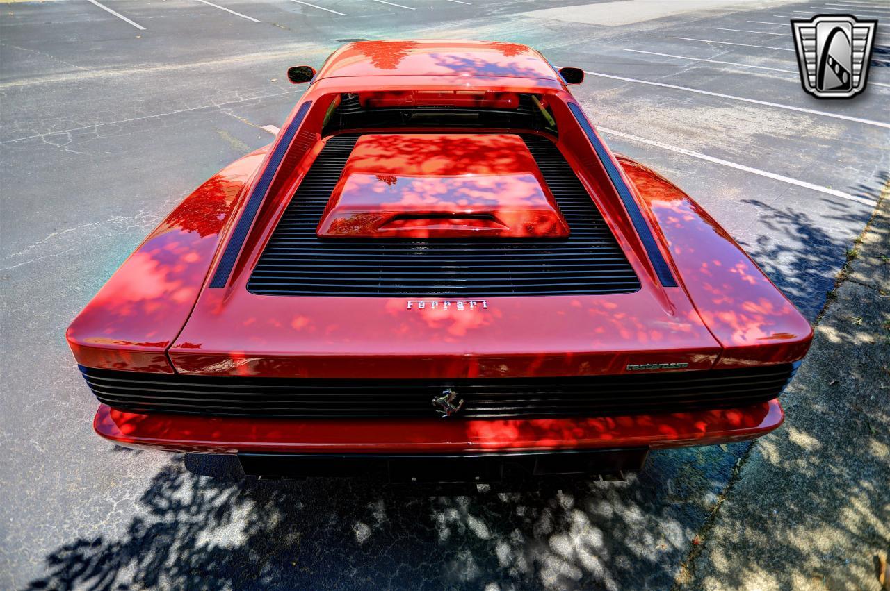 1988 Ferrari Testarossa 11