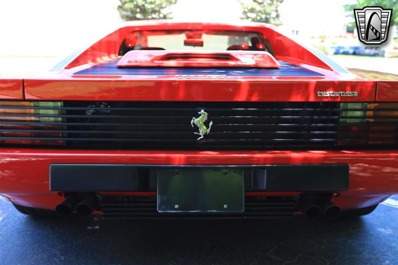 1988 Ferrari Testarossa 21
