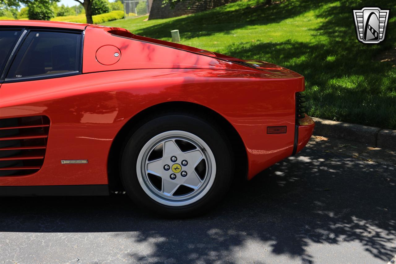 1988 Ferrari Testarossa 37