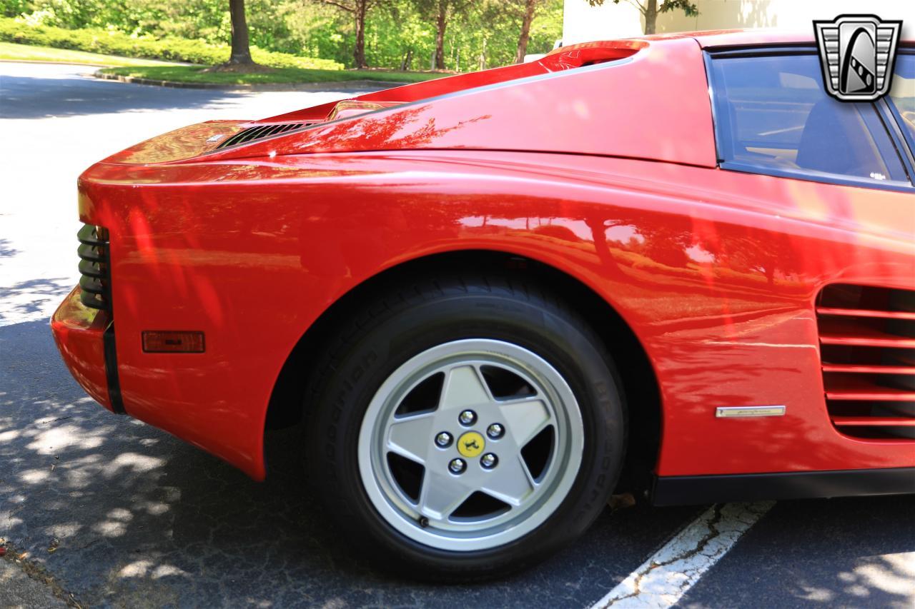 1988 Ferrari Testarossa 41
