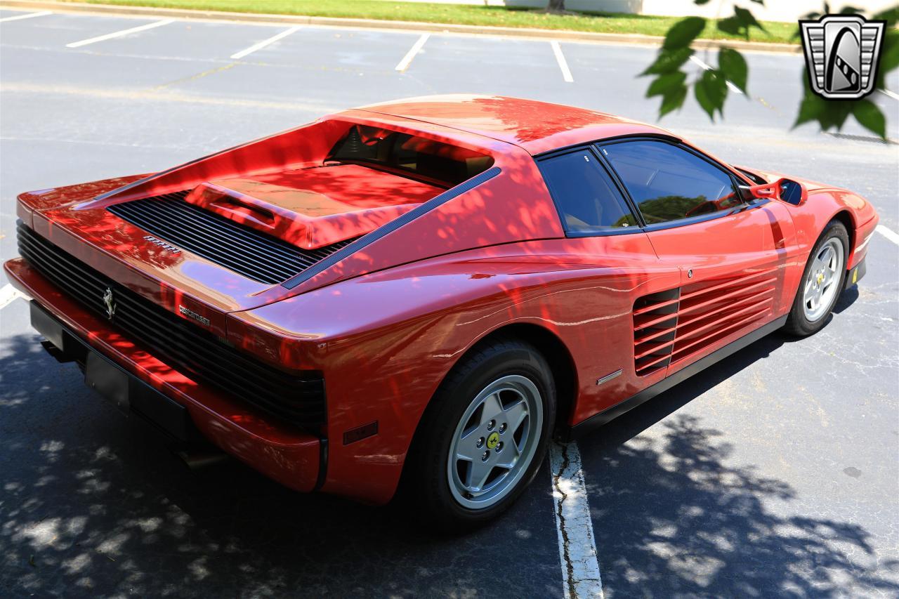 1988 Ferrari Testarossa 76