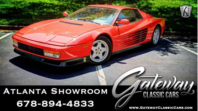 1988 Ferrari Testarossa <br><span style='font-size: large; font-style: italic'><b>  </b></span>