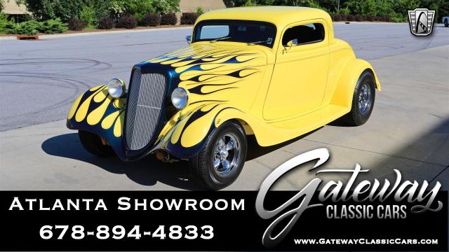1934 Ford Coupe<br><span style='font-size: large; font-style: italic'><b>Model 40 </b></span>