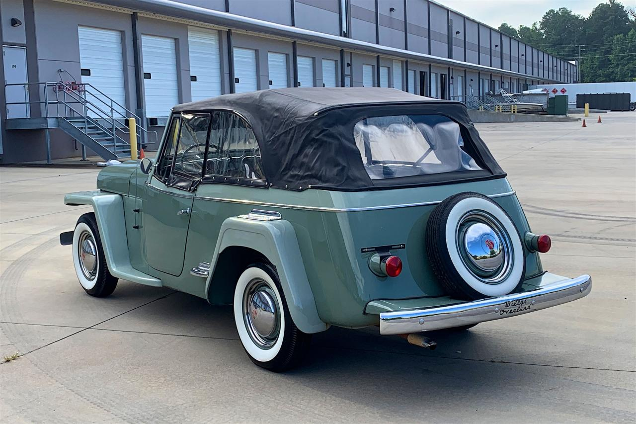 1950 Willys Jeepster 40