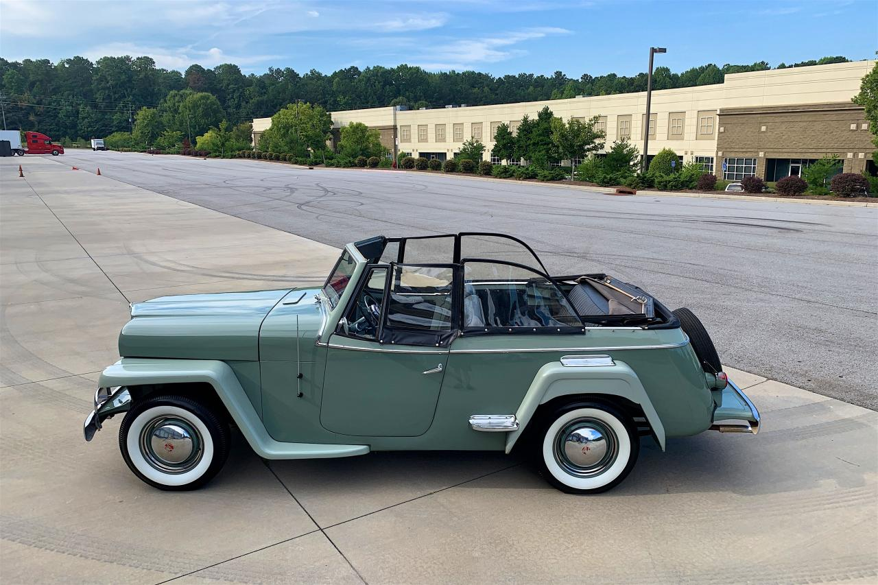 1950 Willys Jeepster 22