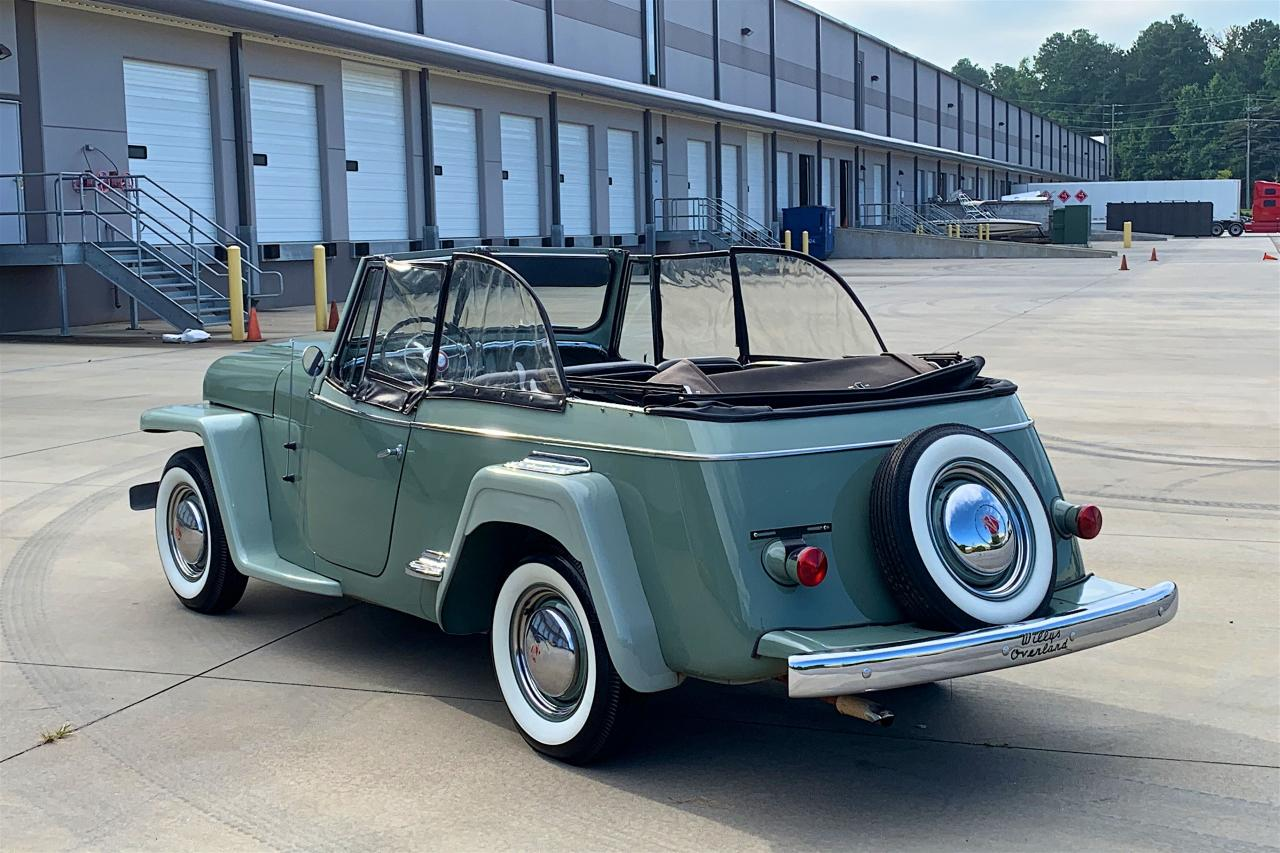 1950 Willys Jeepster 11