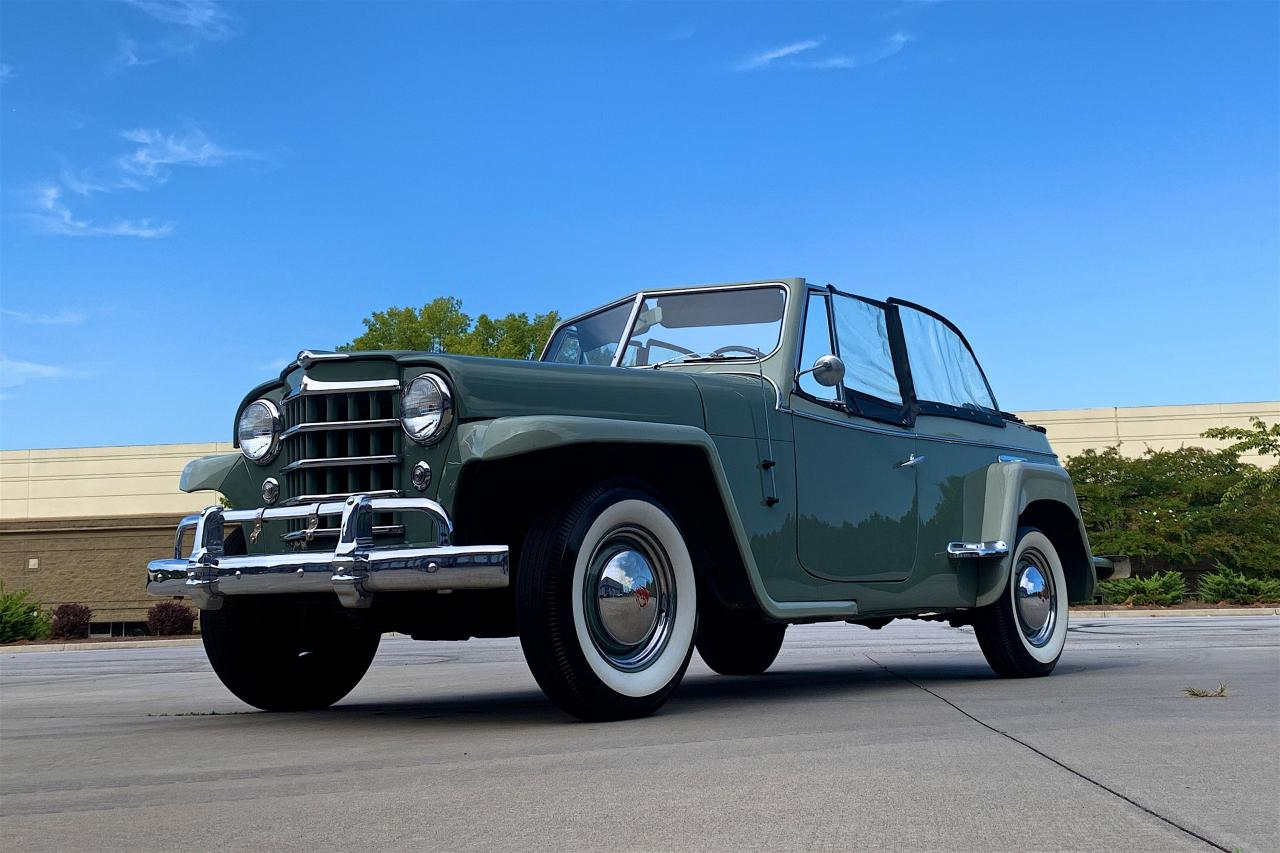1950 Willys Jeepster 23