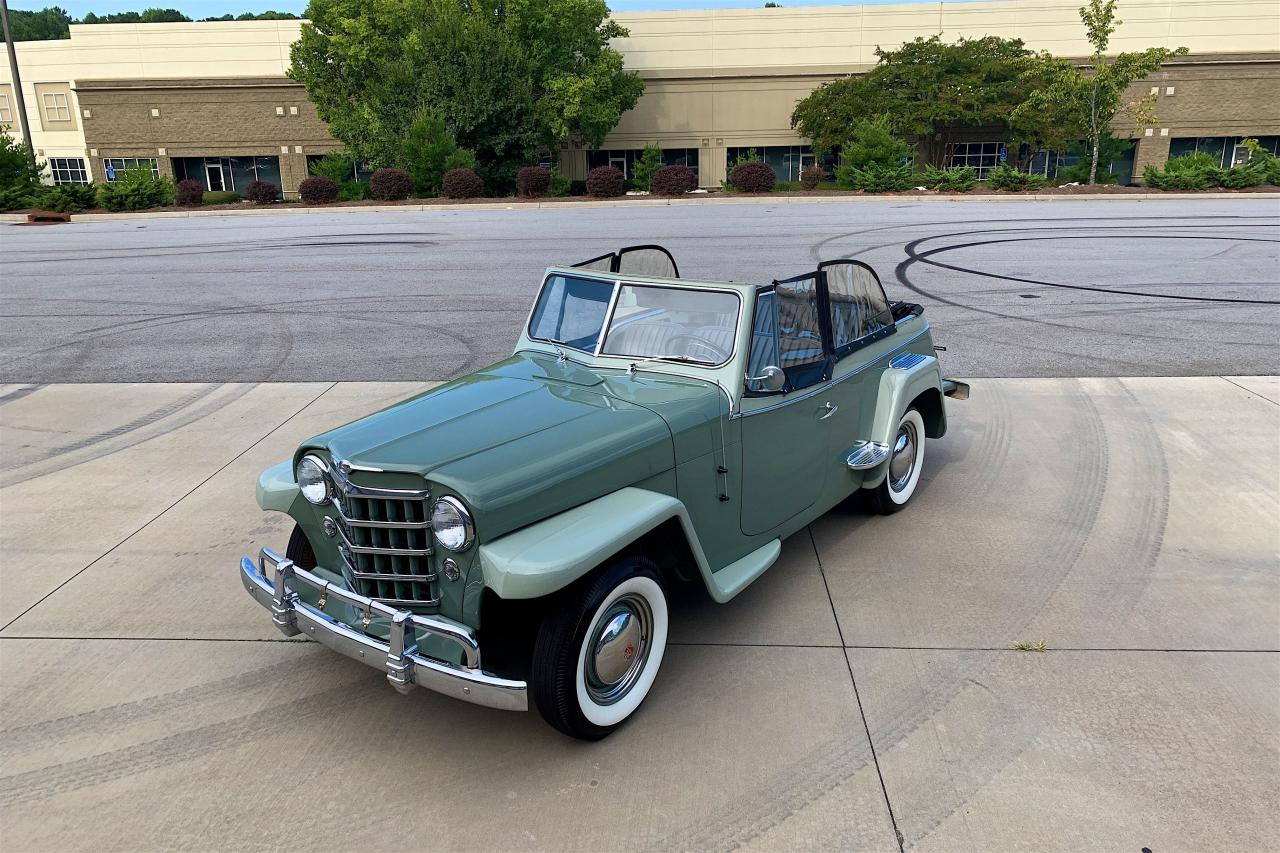1950 Willys Jeepster 24