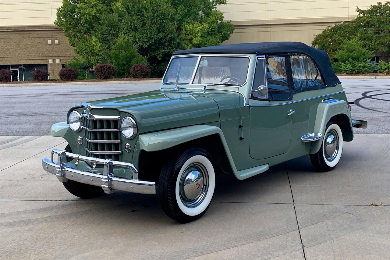 1950 Willys Jeepster 12