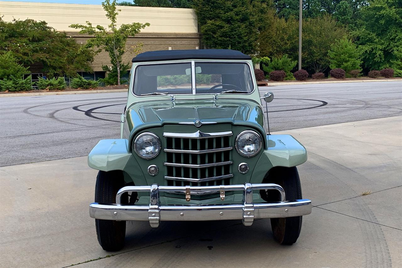 1950 Willys Jeepster 25