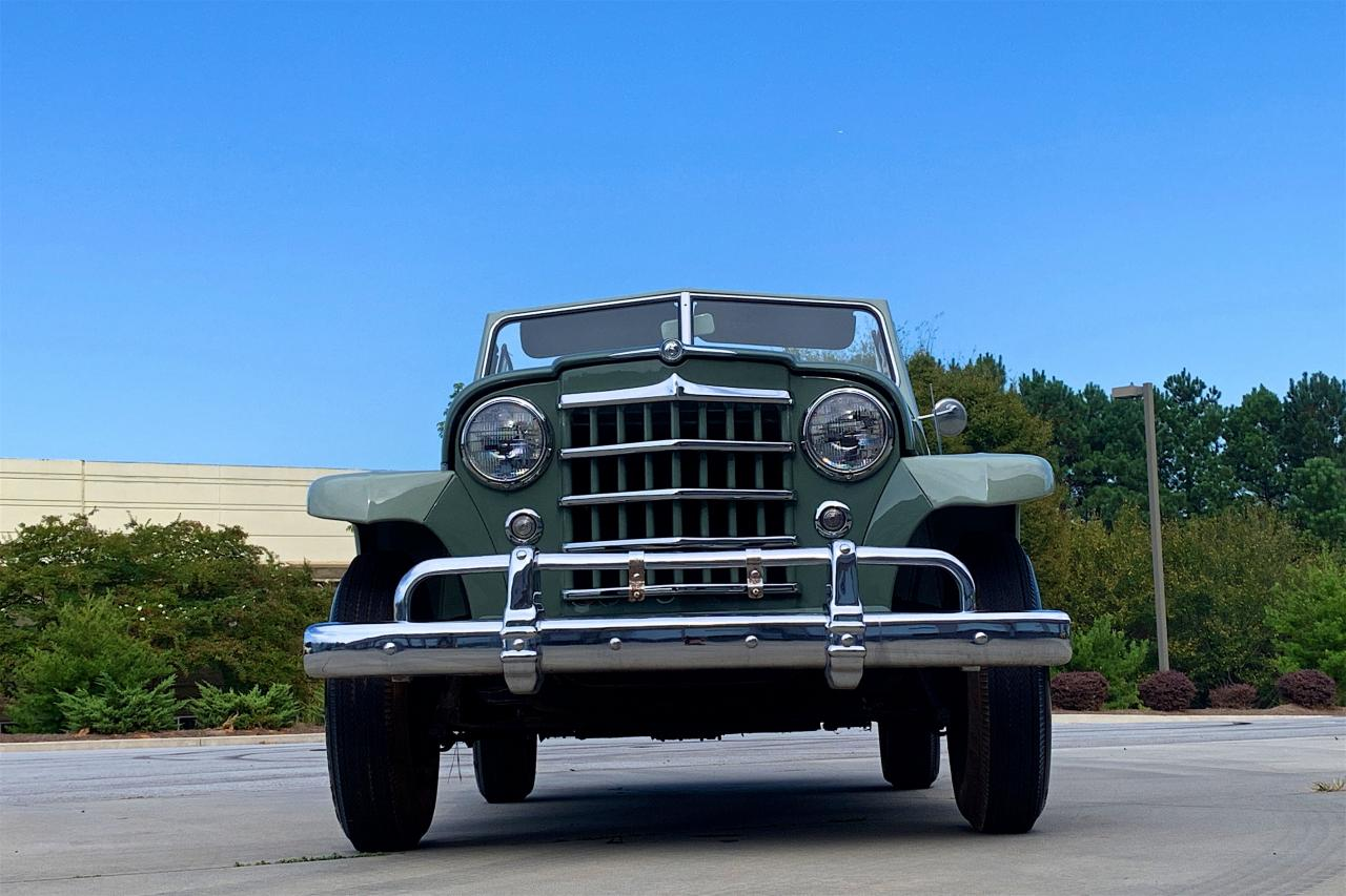 1950 Willys Jeepster 4