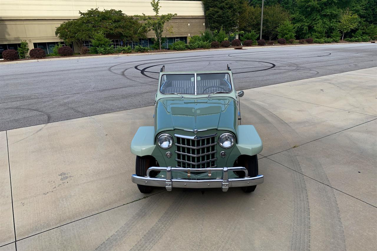 1950 Willys Jeepster 27
