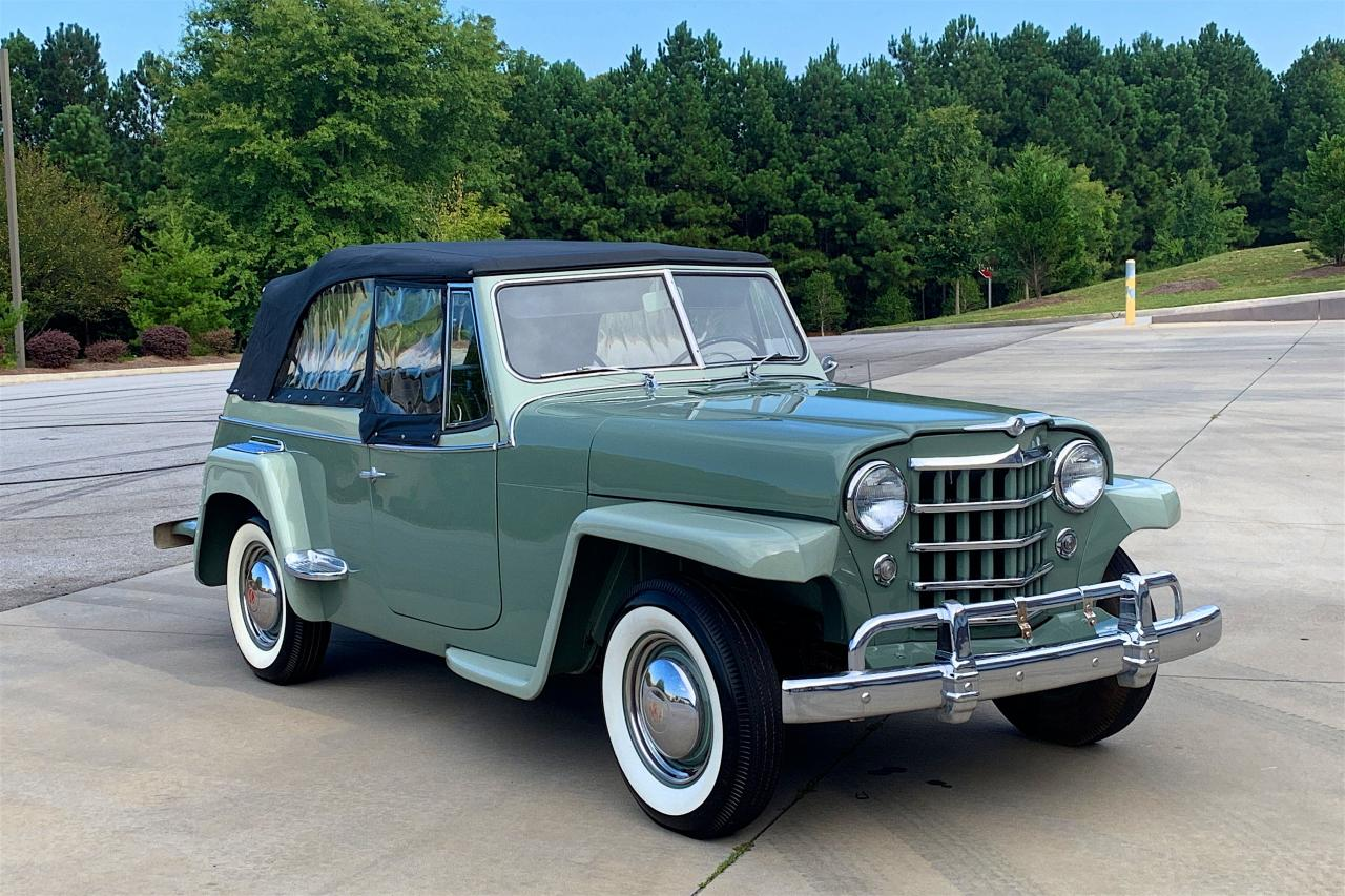 1950 Willys Jeepster 28