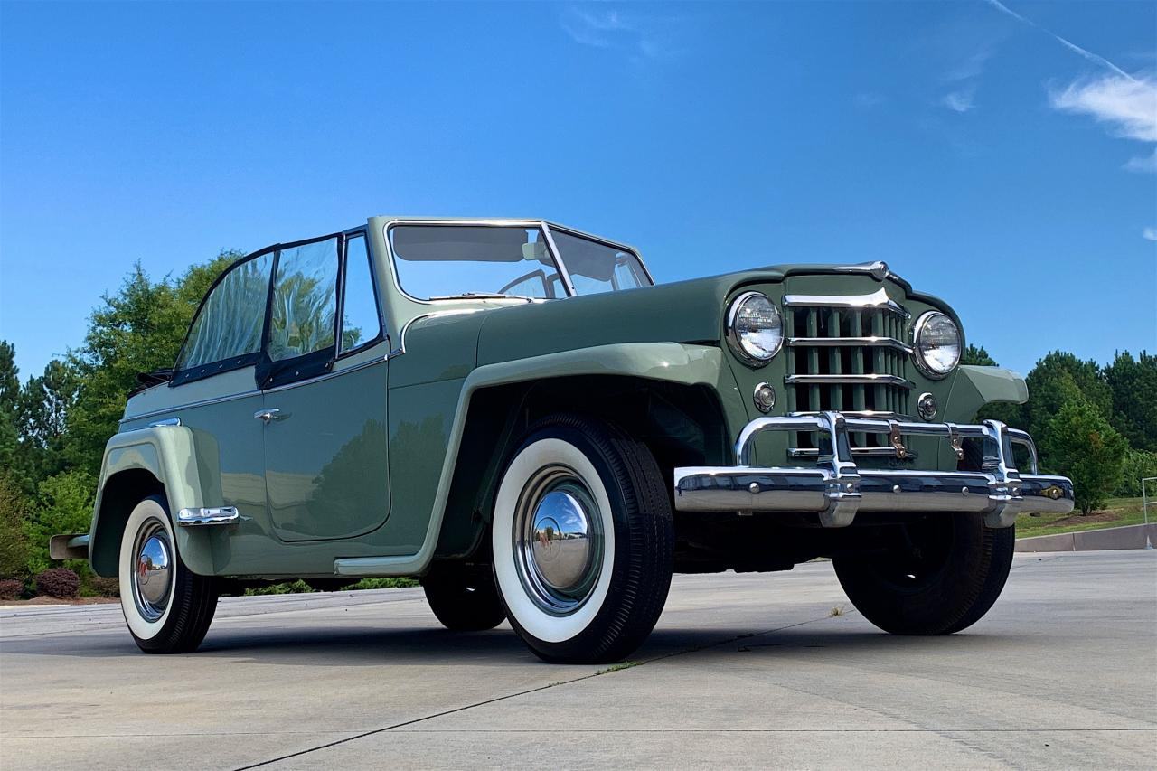 1950 Willys Jeepster 13