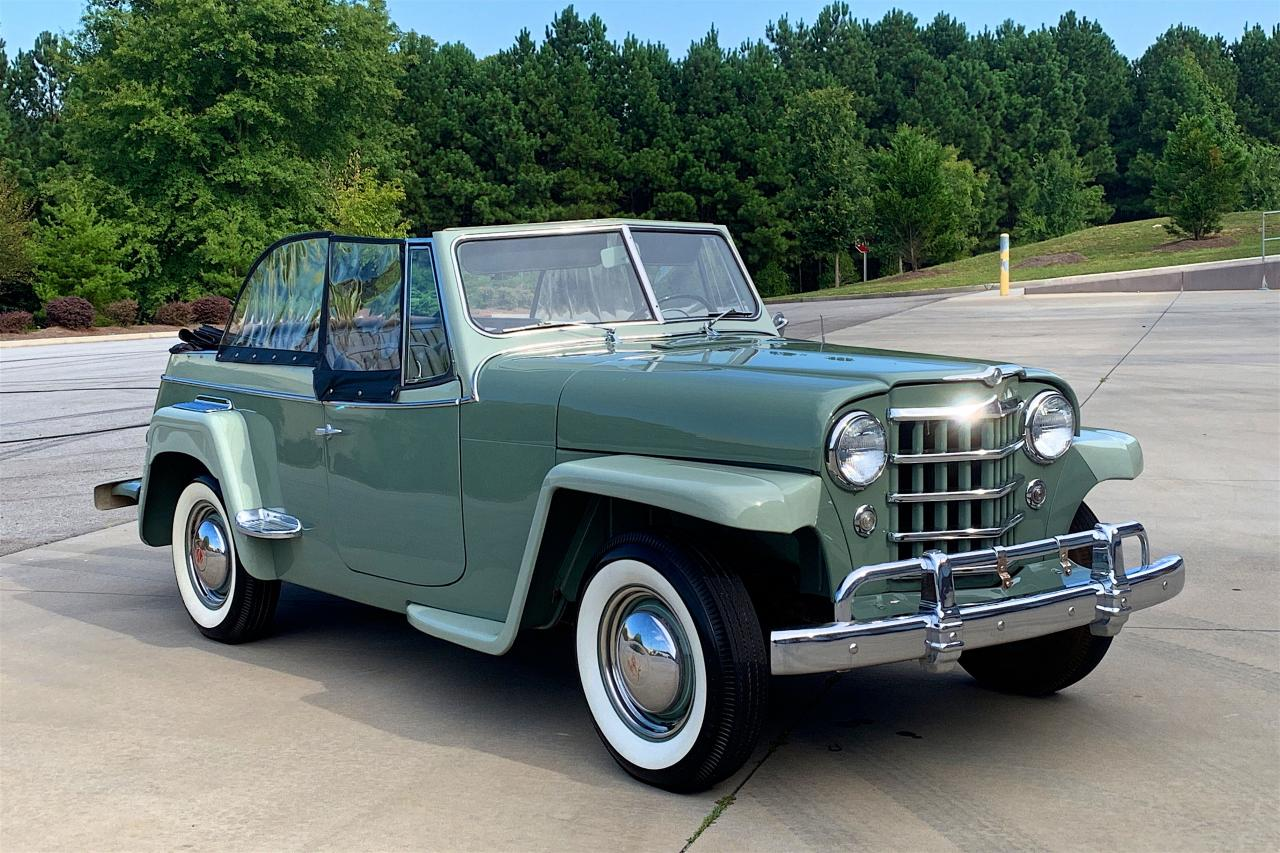 1950 Willys Jeepster 29
