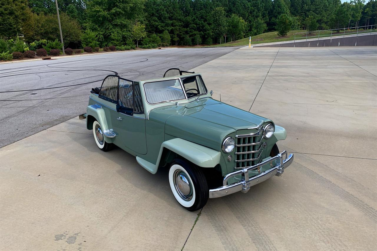 1950 Willys Jeepster 30