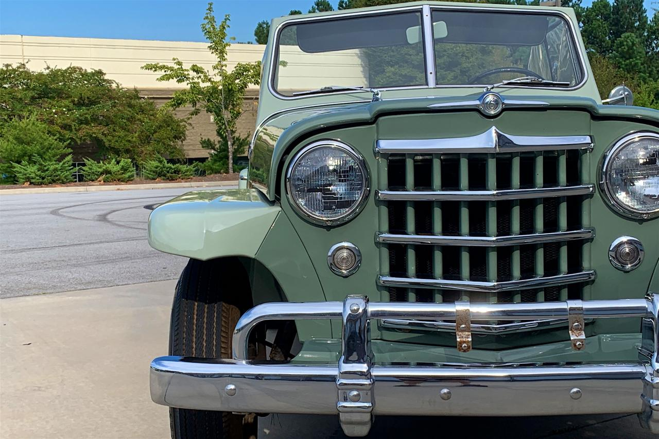 1950 Willys Jeepster 53