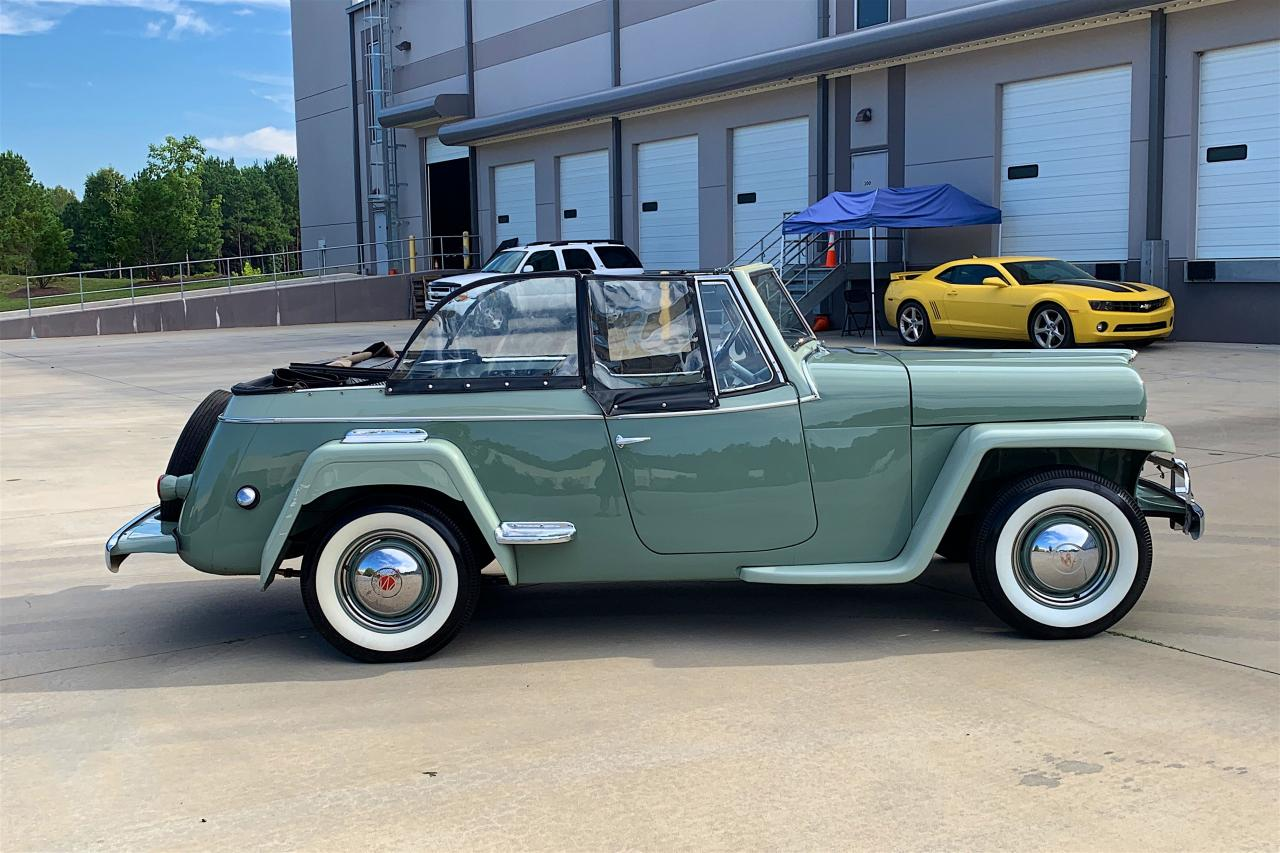 1950 Willys Jeepster 16