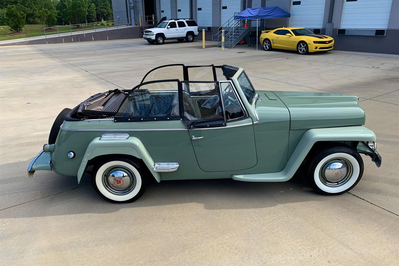 1950 Willys Jeepster 32