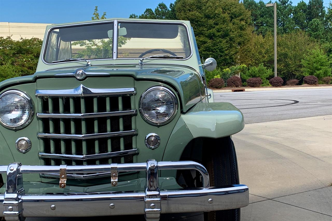 1950 Willys Jeepster 55